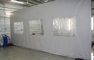 Тентовые завесы и шторы